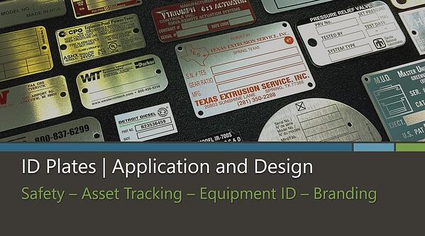ID Plate Application and Design Cover