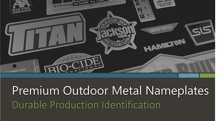 Outdoor Metal Nameplates eBook Cover 800x444