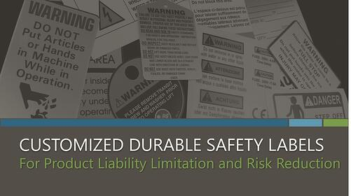 Customized Durable Safety Labels eBook from McLoone