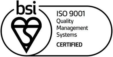 BSI ISO 9001 Certified