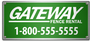 color options for metal fence signs