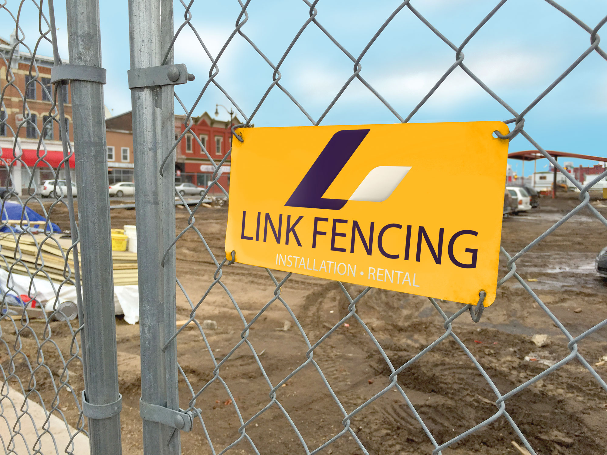 Durable Fence Signage by McLoone
